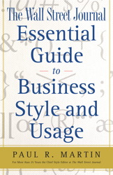 The Wall Street Journal Essential Guide to Business St