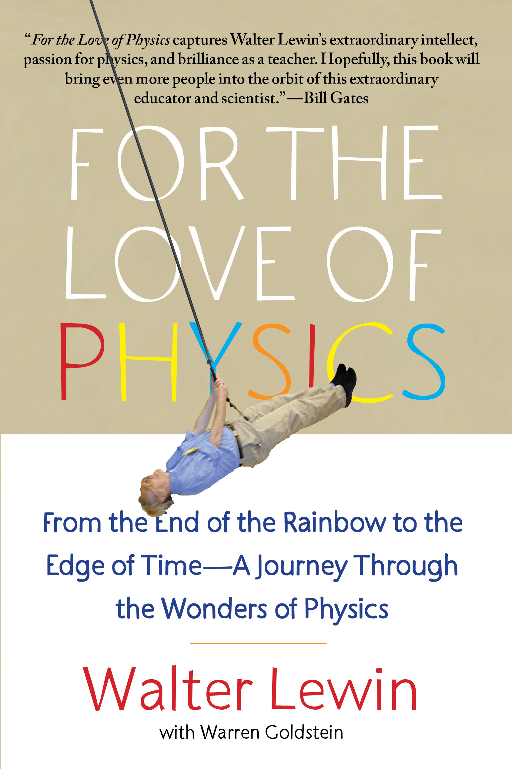 For the love of physics book by walter lewin warren goldstein book cover image jpg for the love of physics fandeluxe Image collections
