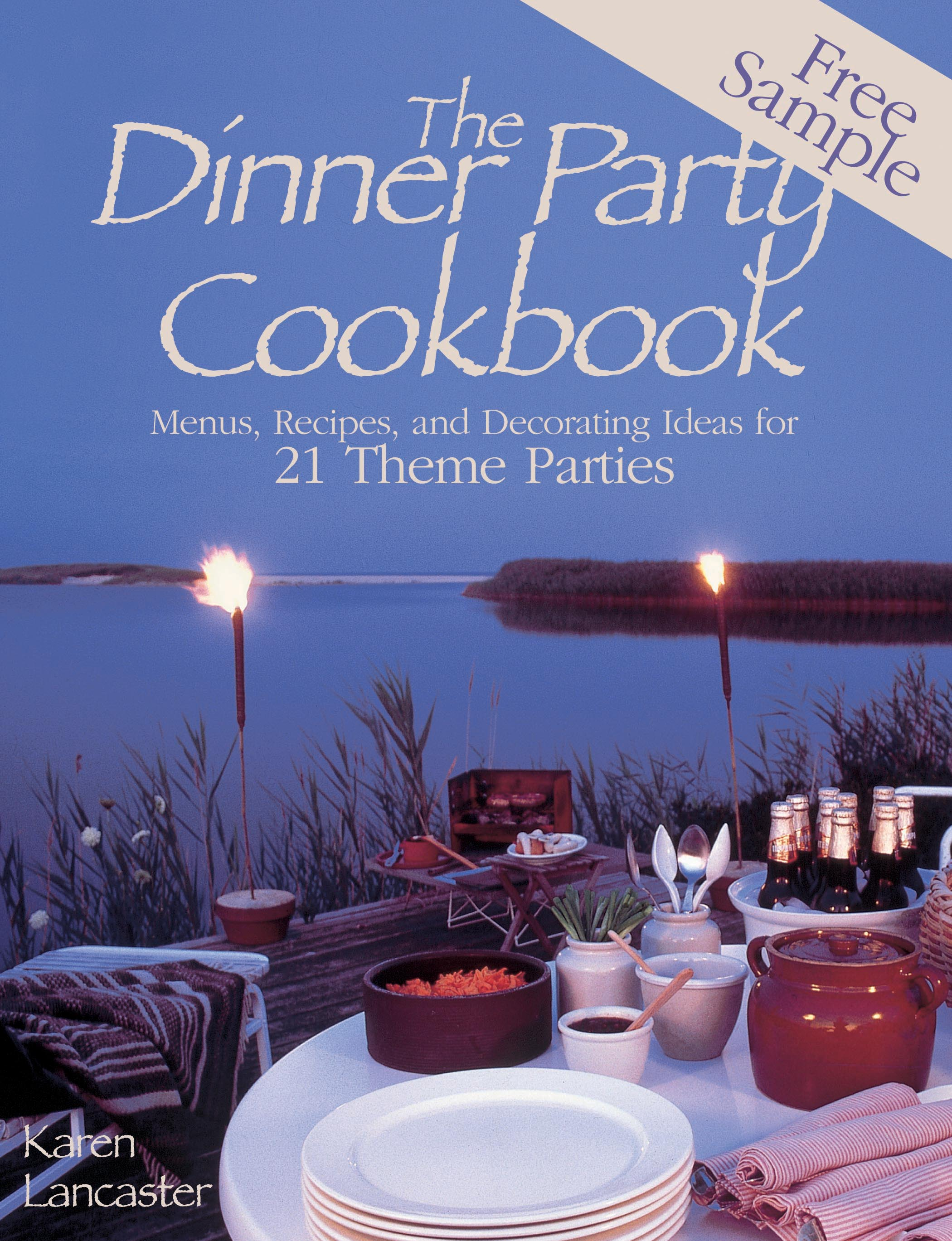 Dinner Party Themes And Menus Part - 38: Book Cover Image (jpg): Dinner Party Cookbooku2014Free Sample