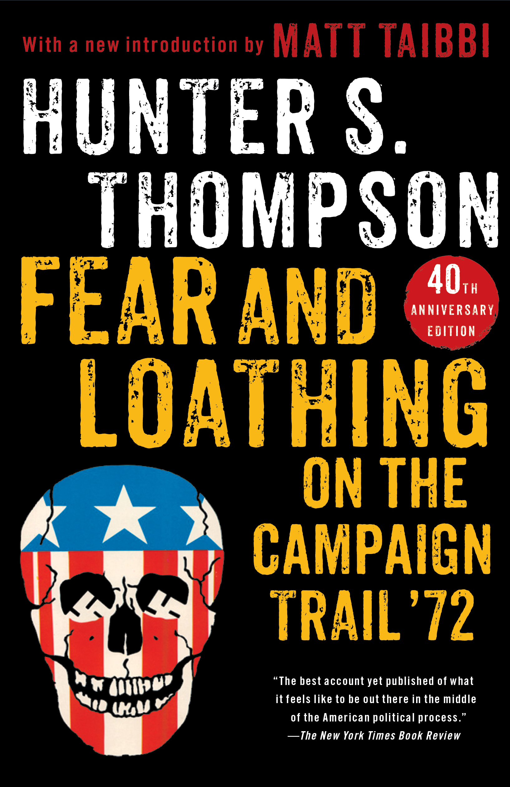 Image result for book cover fear and loathing on the campaign trail