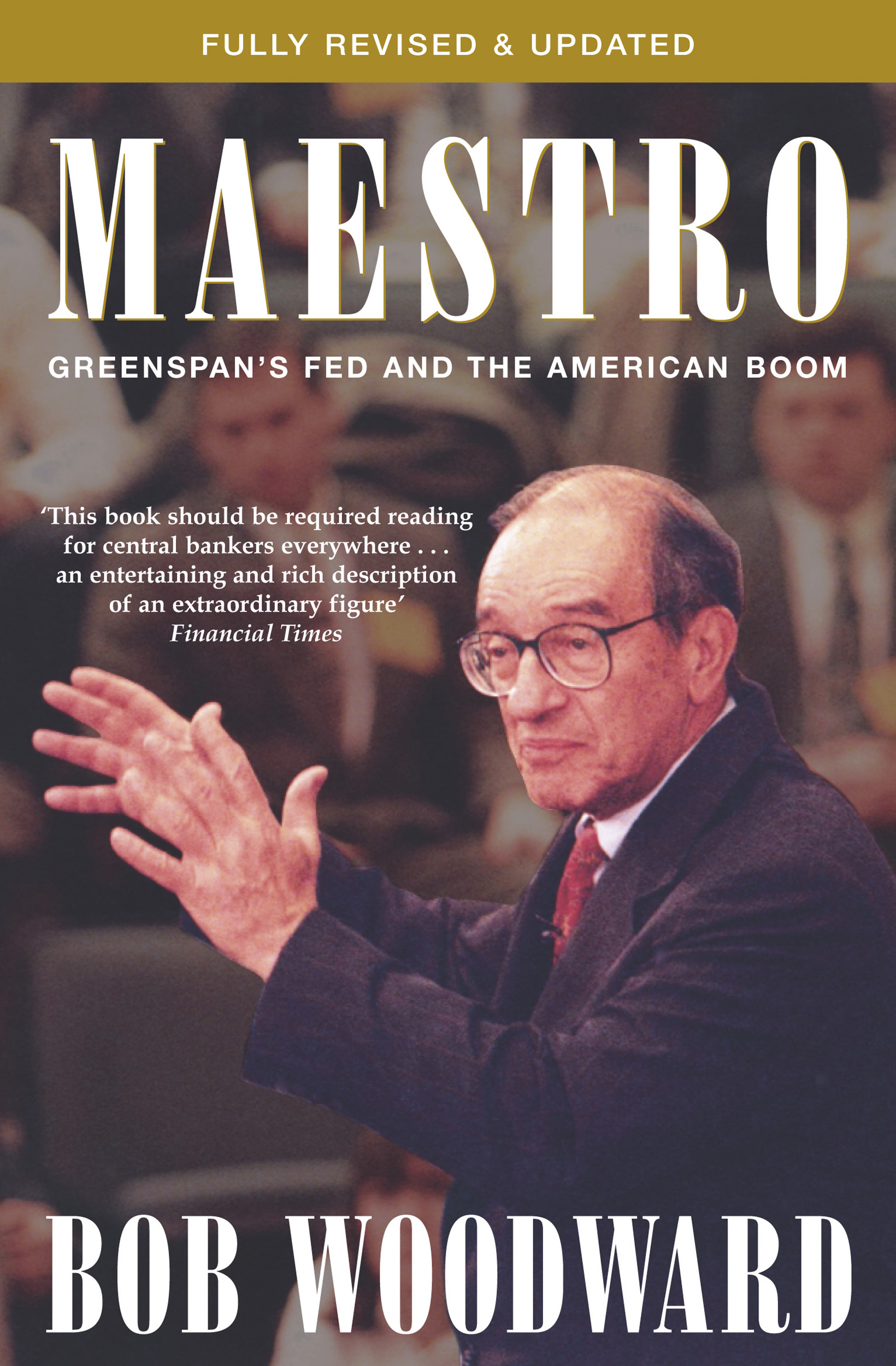 a book review of bob woodwards book maestro Bob woodward set out to write about george w bush's first year as president, covering his tax cuts and domestic agenda, but when september 11 th happened it changed the focus of his book.