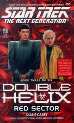 Tng #53 Double Helix Book Three: Red Sector