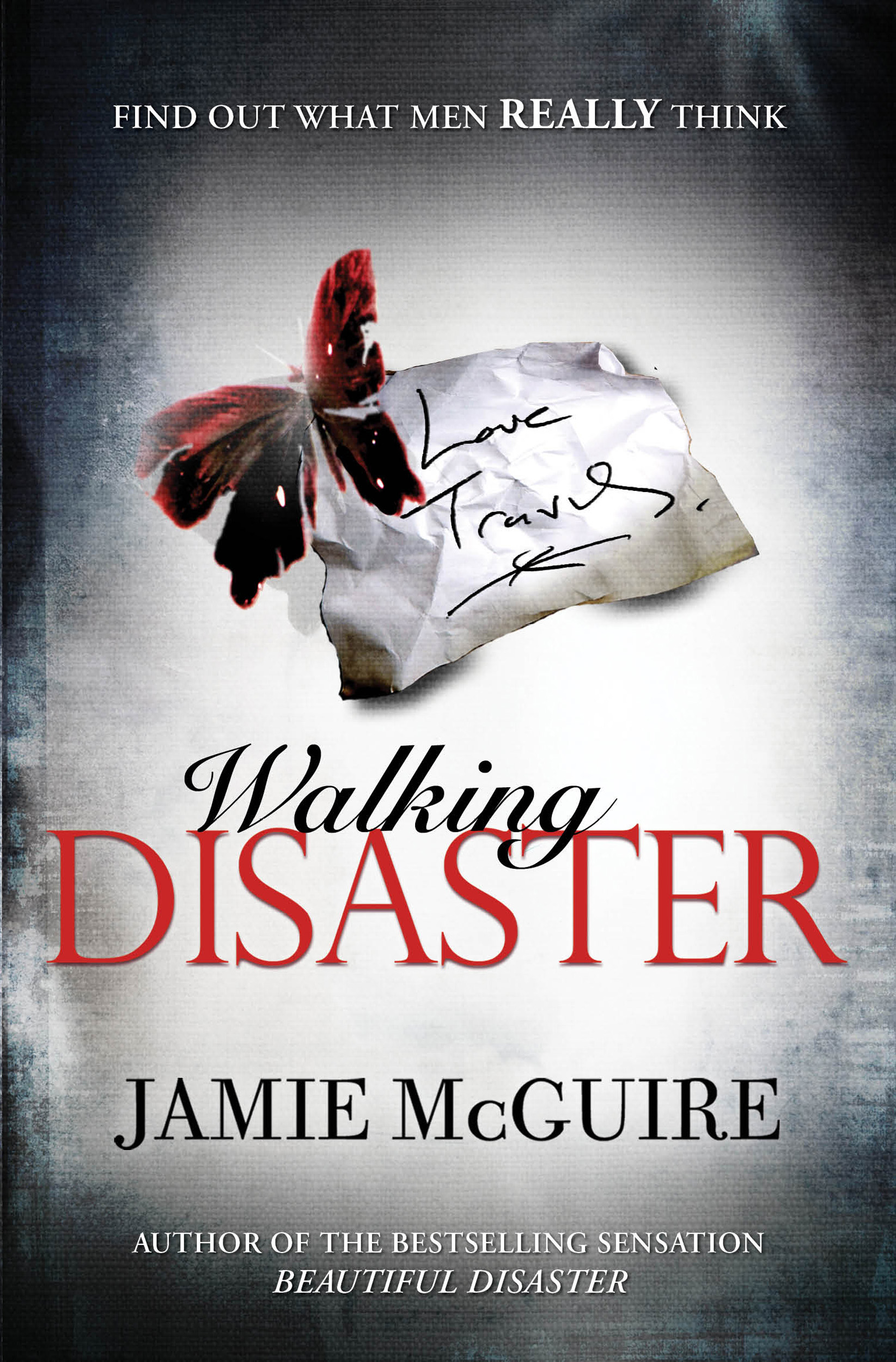 Beautiful Disaster Book Cover : Walking disaster book by jamie mcguire official