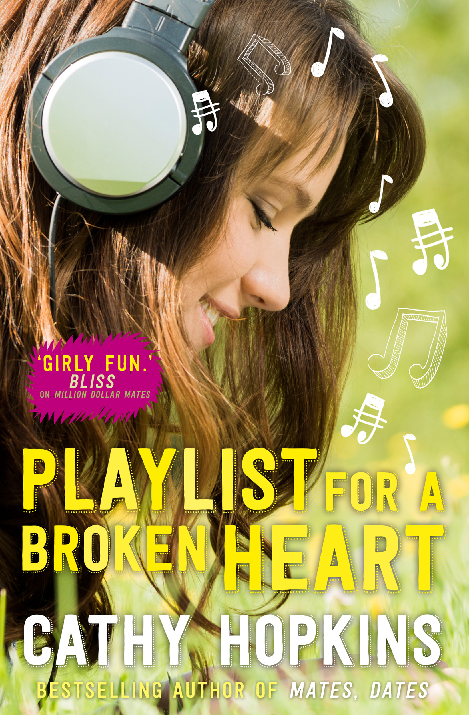 Playlist for a broken heart book by cathy hopkins official book cover image jpg playlist for a broken heart fandeluxe Document