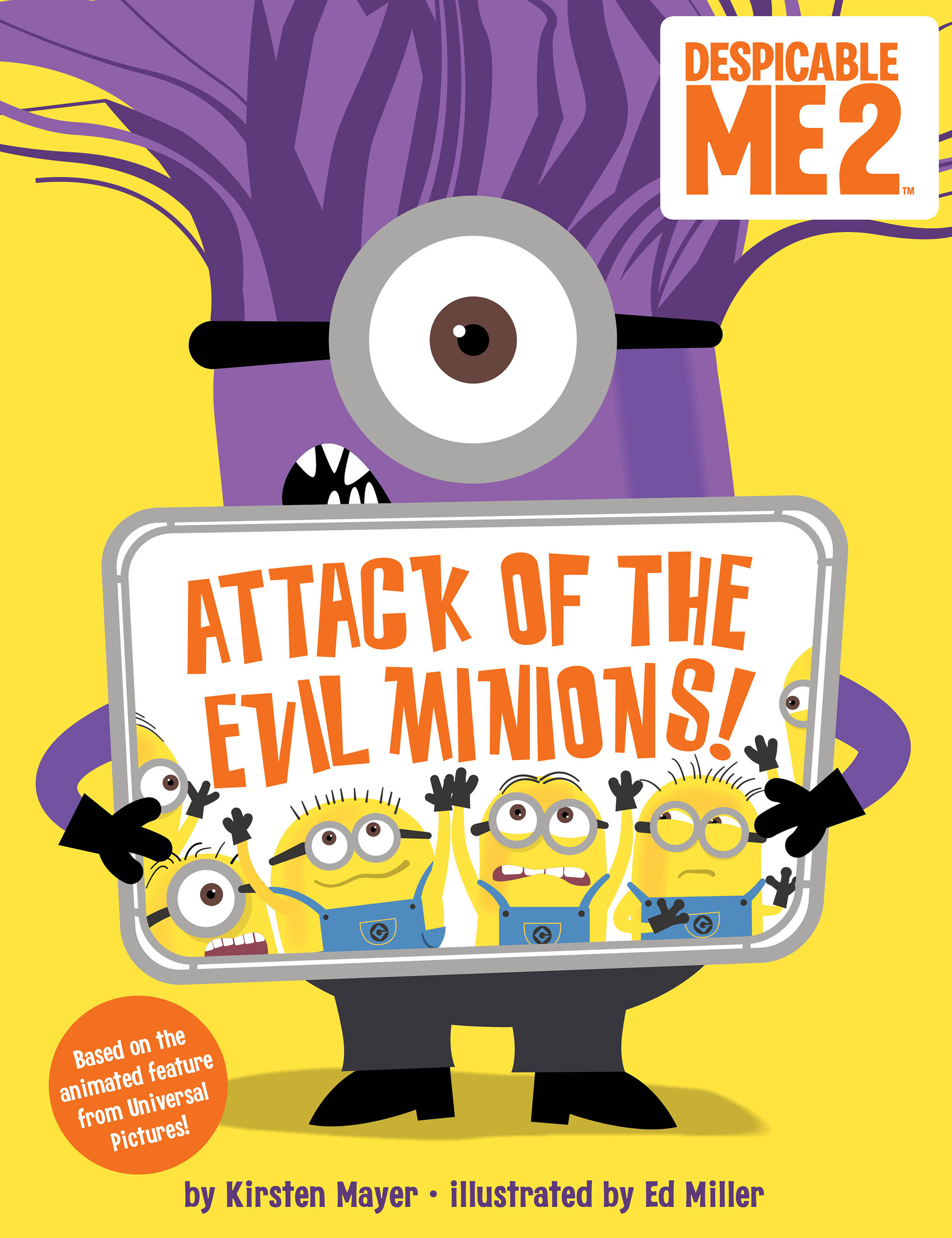 despicable me 2: attack of the evil minions! | bookkirsten mayer