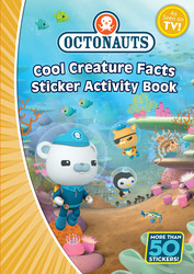 Octonauts Cool Creature Facts Sticker Activity Book