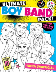 Ultimate Boy Band Pack: Colour in One Direction/Colour in 5SOS!