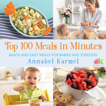 Top 100 meals in minutes book by annabel karmel official top 100 meals in minutes forumfinder Image collections