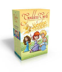 The Goddess Girls Charming Collection Books 9-12 (Charm Bracelet Included!)