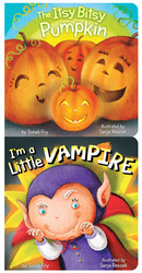 I'm a Little Vampire/The Itsy Bitsy Pumpkin Vertical 2-Pack