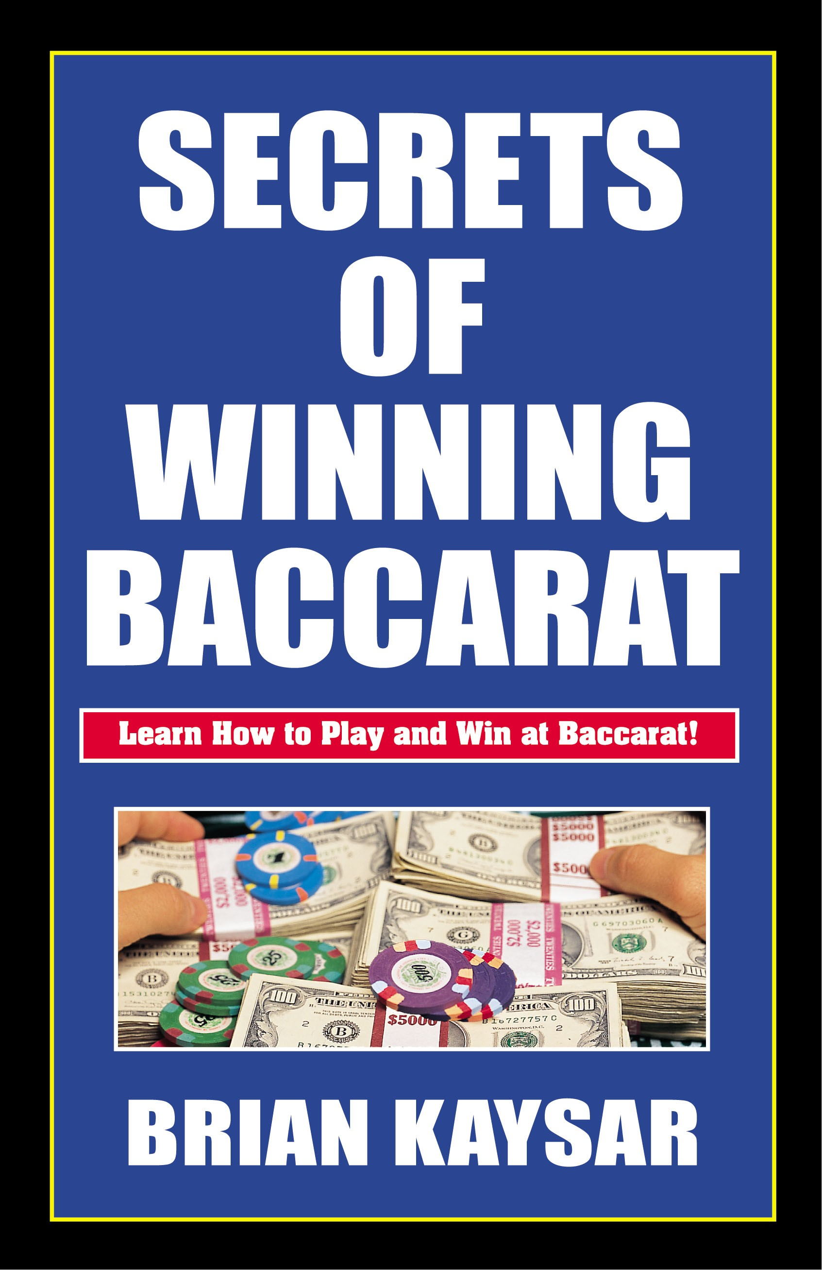 baccarat strategy book