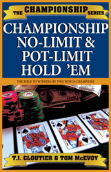 Championship No Limit & Pot Limit Hold 'Em