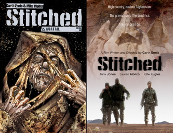 Stitched Volume 1 Hardcover DVD Edition