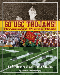 Go USC Trojans Crossword Puzzle Book