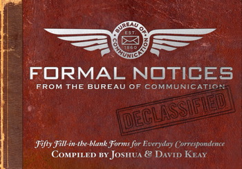 Formal Notices