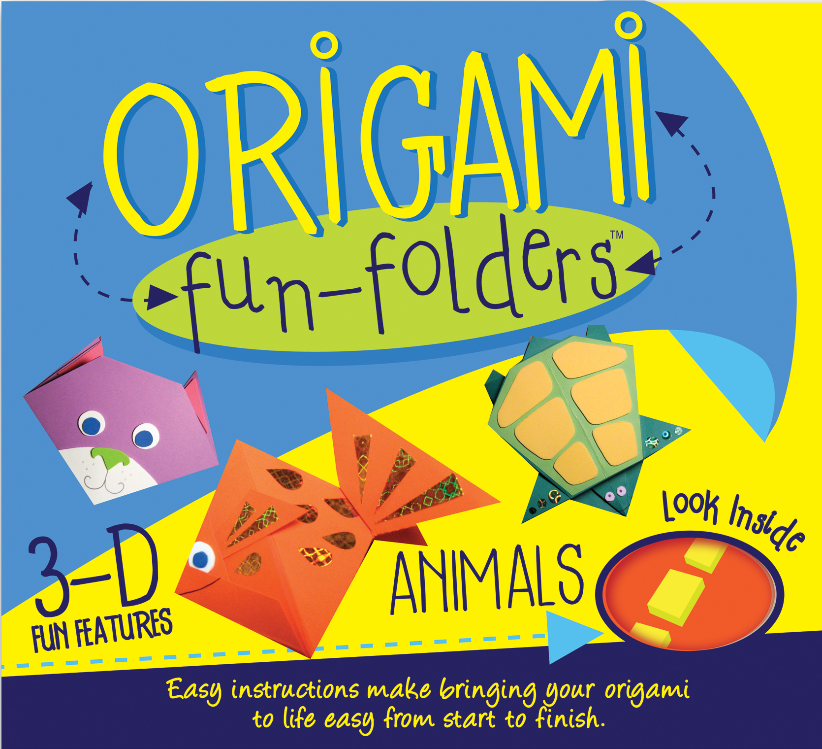 Origami fun folders animals book by play pen books official easy instructions make bringing your origami to life fun from start to finish jeuxipadfo Choice Image