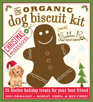 The Organic Dog Biscuit Kit: Christmas Edition
