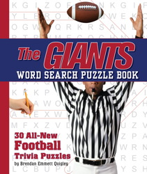 The Giants Word Search Book