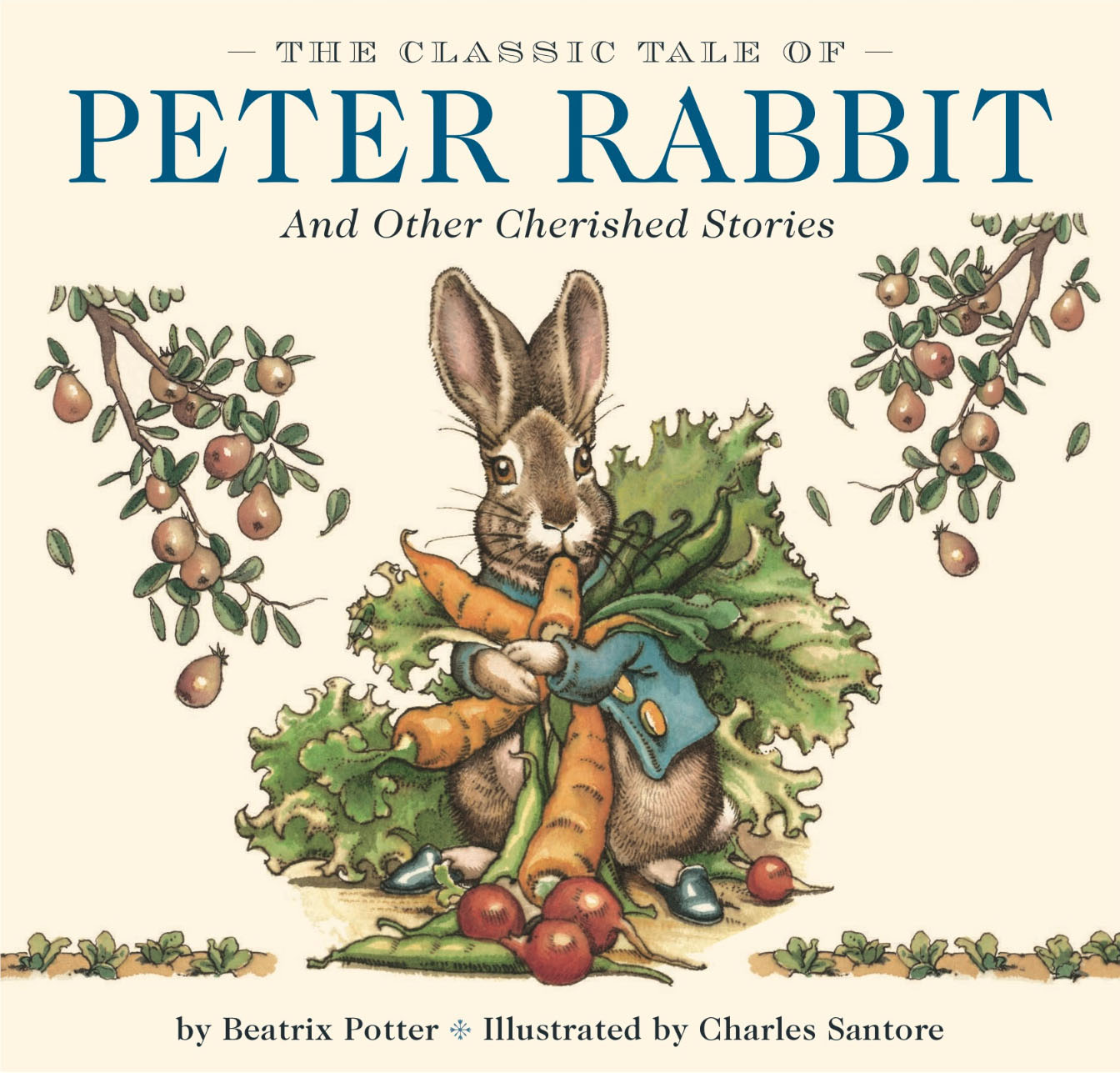 The Classic Tale of Peter Rabbit | Book by Beatrix Potter, Charles ...