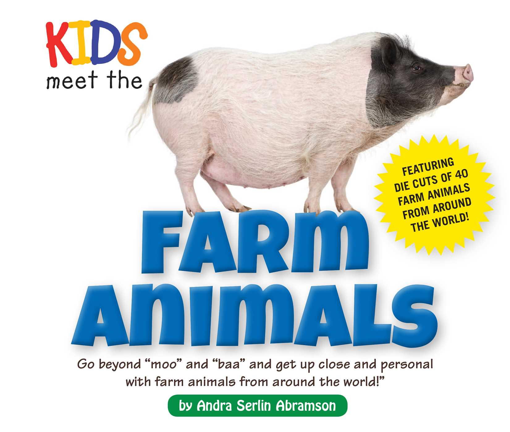Kids meet the farm animals 9781604335026 hr