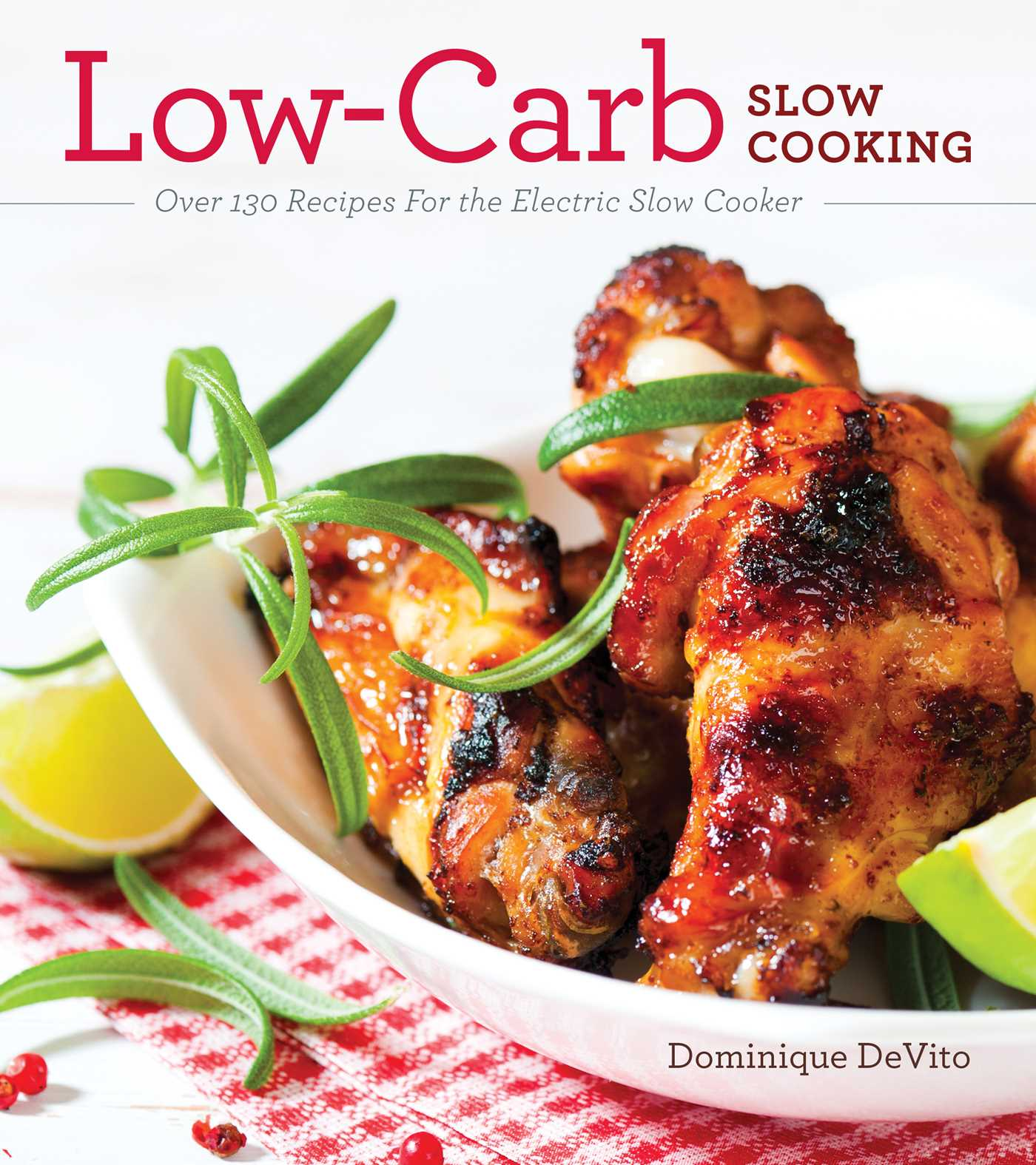 Low carb slow cooking 9781604335064 hr
