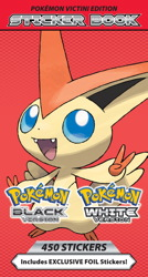 Pokemon Mini-Sticker Book: Victini Edition
