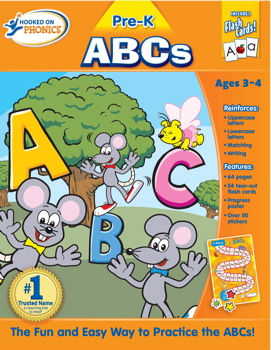 Hooked on Phonics Pre-K ABCs Premium Workbook