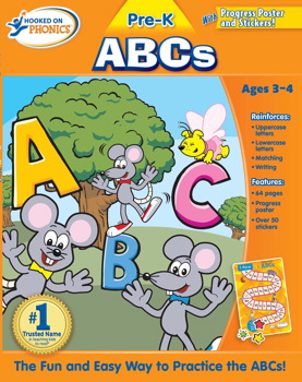 Hooked on Phonics Pre-K ABCs Workbook