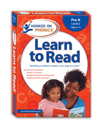 Hooked on Phonics Learn to Read Pre-K Level 2