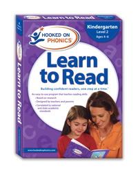Hooked On Phonics Word Families Level 4 Early Emergent Readers Age 4-6
