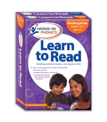 Kindergarten Learn to Read 1&2/Word Families 3&4 (Hooked on Phonics)