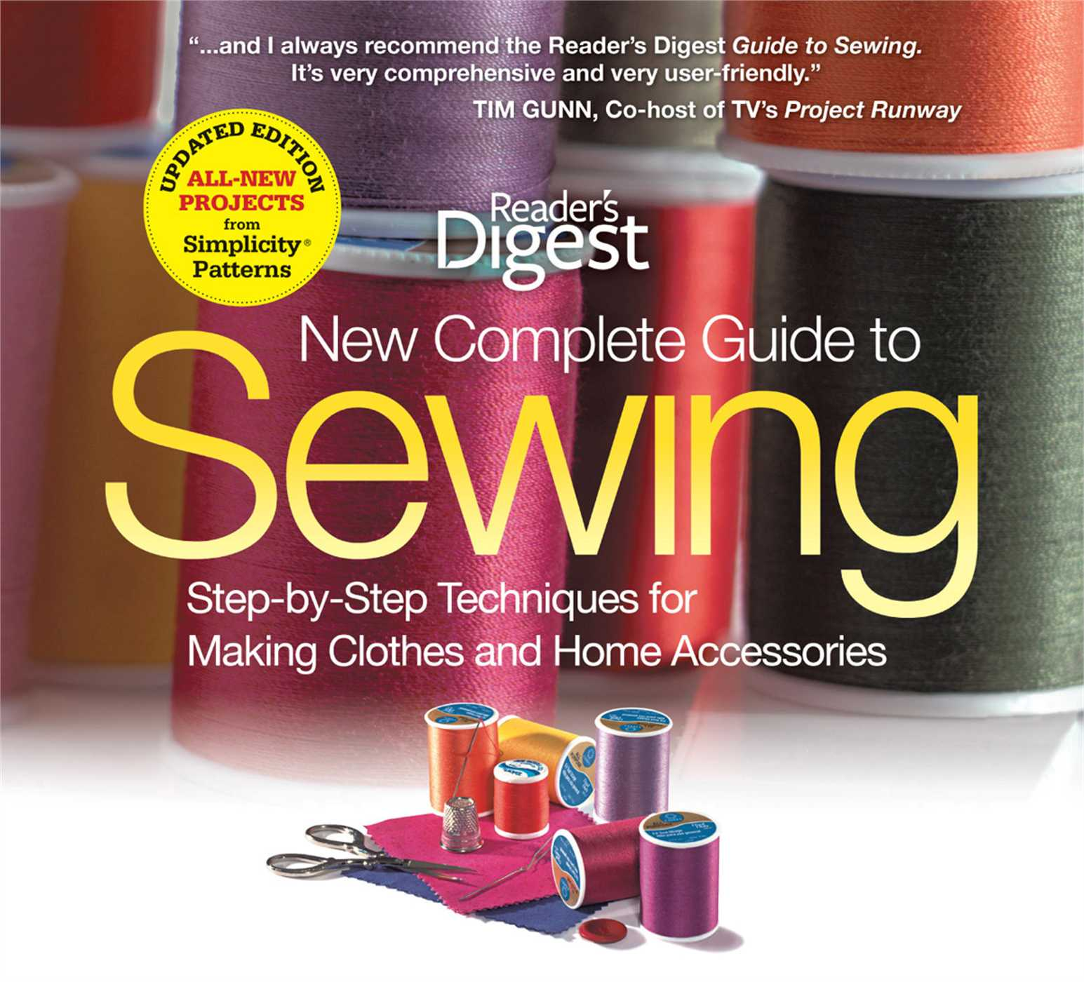 Book Cover Sewing Guide : The new complete guide to sewing book by editors of