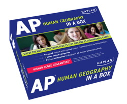 Kaplan AP Human Geography in a Box