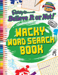 Ripley: Wacky Word Search Book