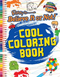 Ripley: Cool Coloring Book