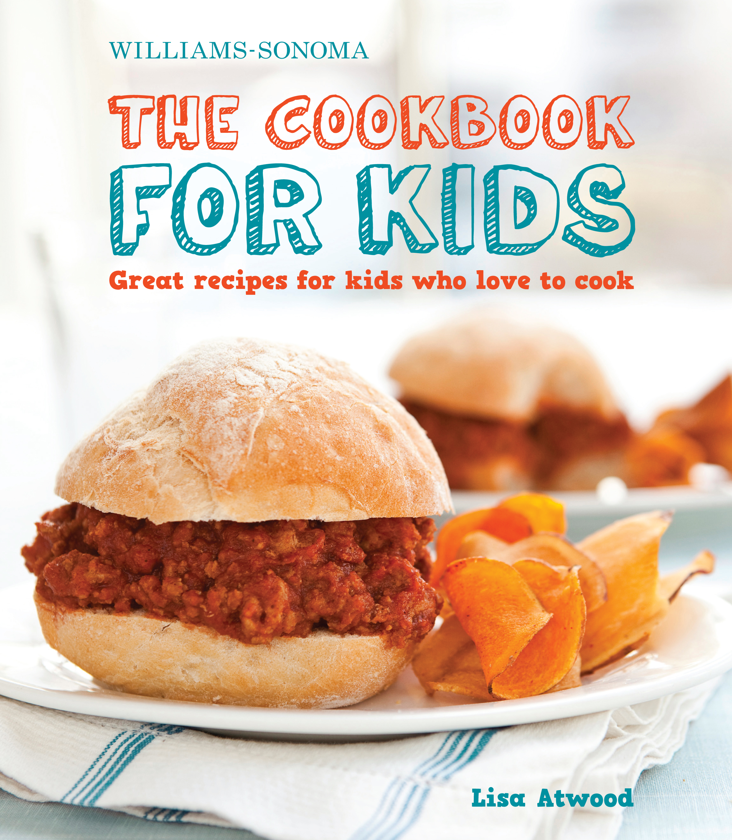 Cookbook Covers For Kids : The cookbook for kids williams sonoma book by lisa