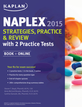 NAPLEX 2015 Strategies, Practice, and Review with 2 Practice Tests
