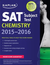 Kaplan SAT Subject Test Chemistry 2015-2016