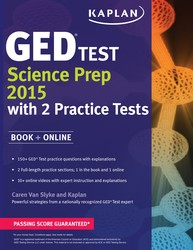 Kaplan GED® Test Science Prep 2015