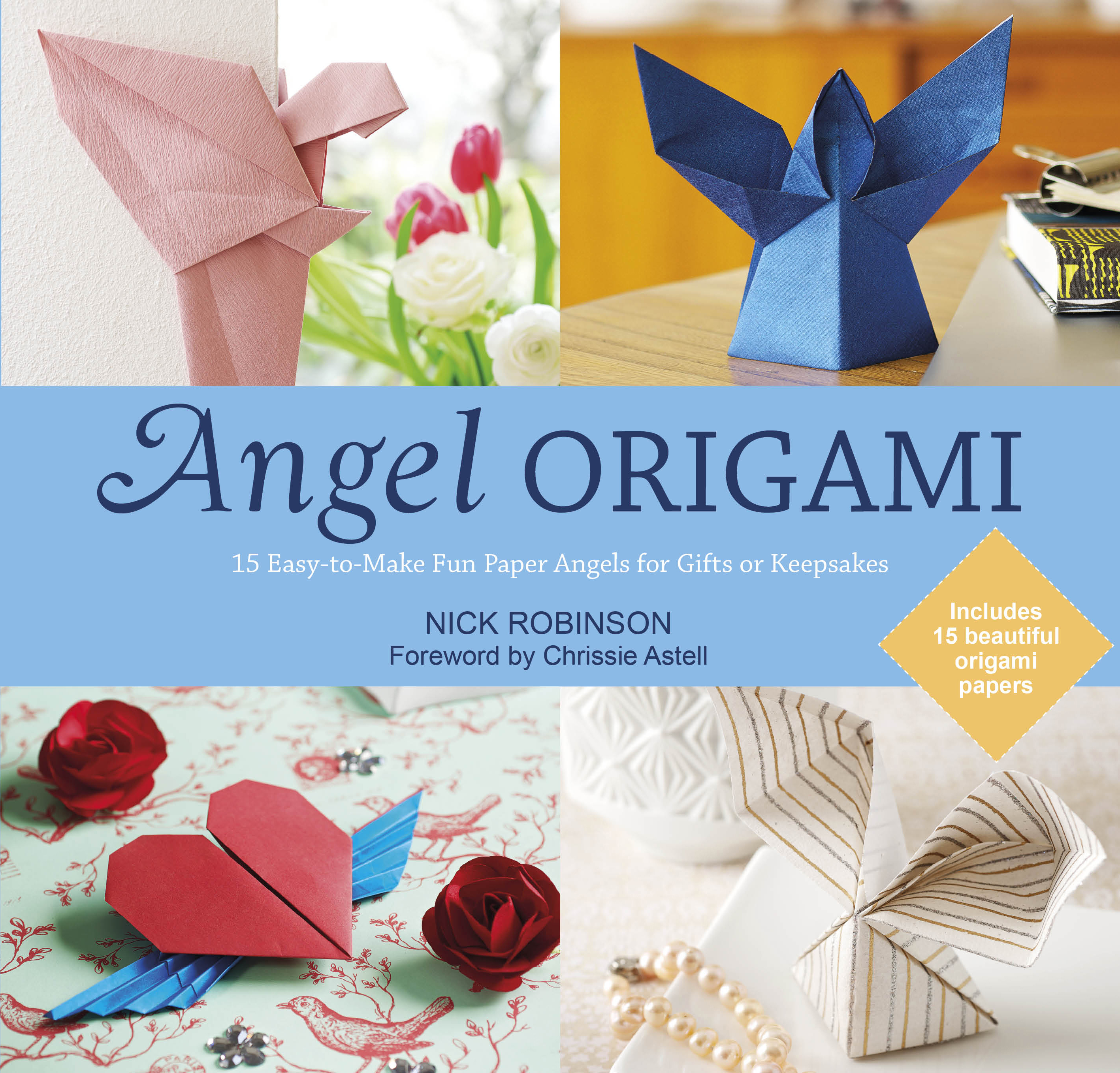 angel origami book by nick robinson official publisher