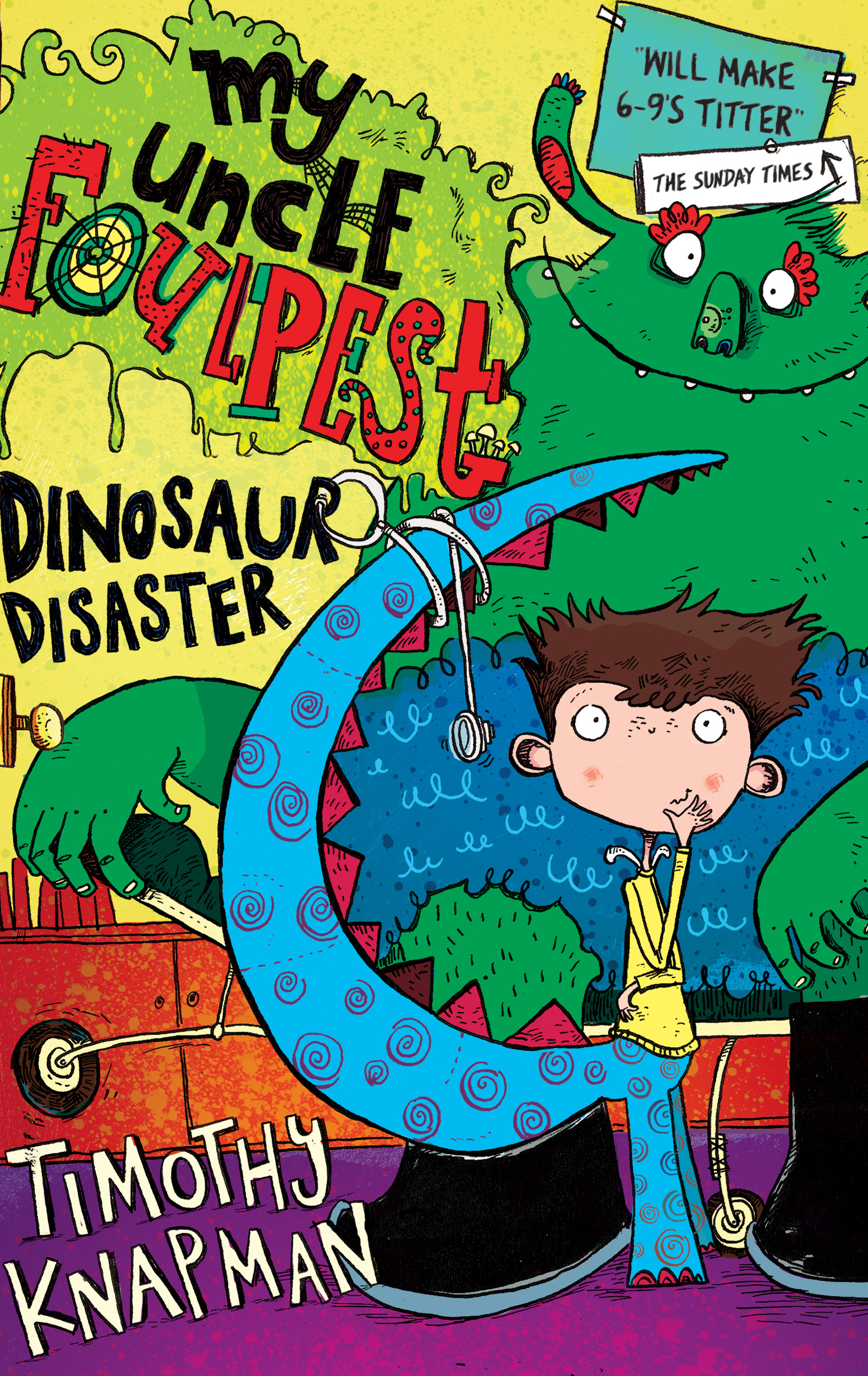 Dinosaur Disaster: A Branches Book Looniverse #3