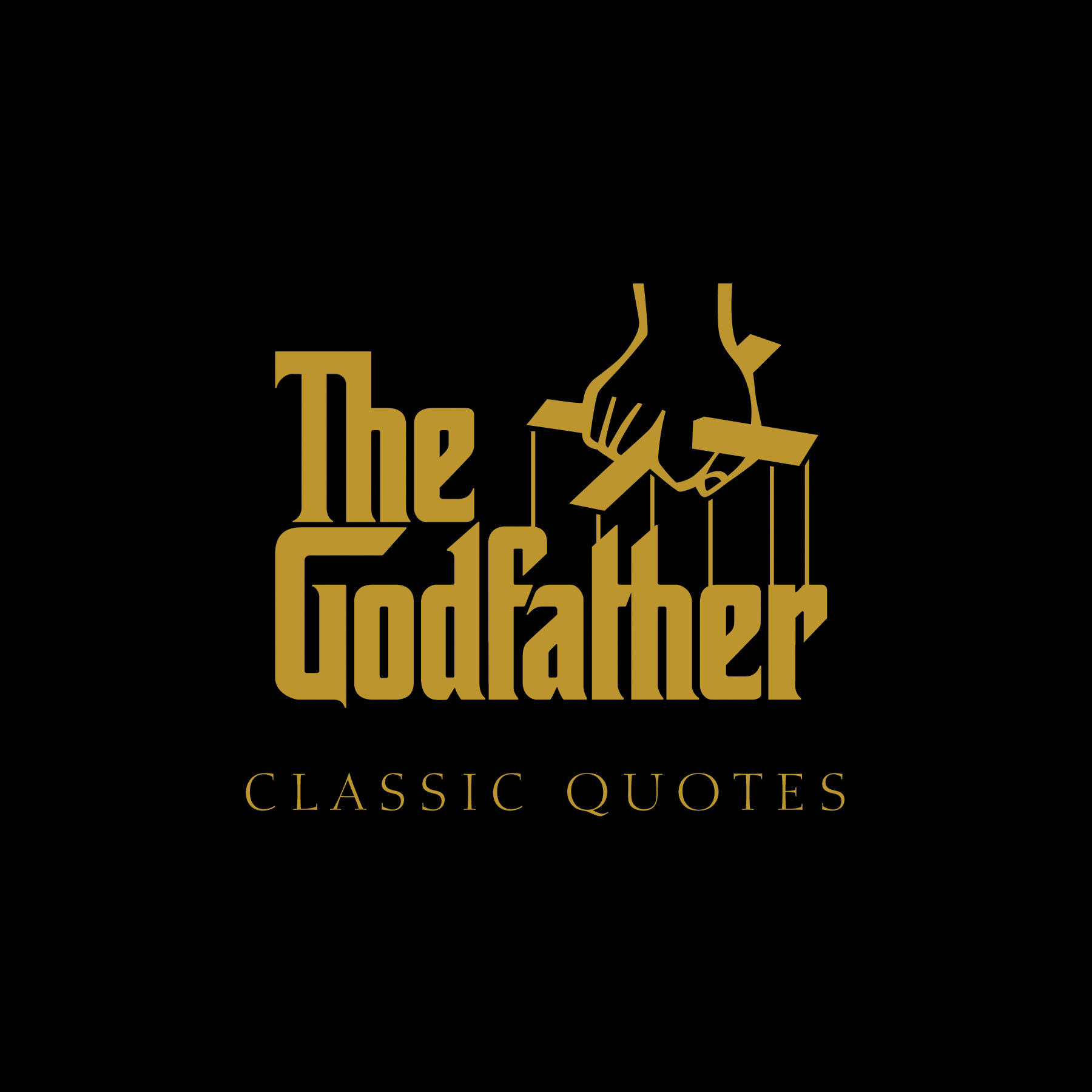 Classic Quotes The Godfather Classic Quotes  Bookcarlo De Vito  Official