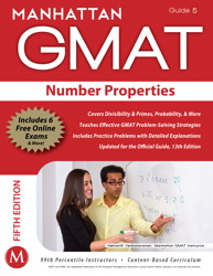 Number Properties GMAT Strategy Guide, 5th Edition