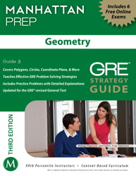 Geometry GRE Strategy Guide, 3rd Edition