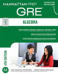 Algebra GRE Strategy Guide, 4th Edition