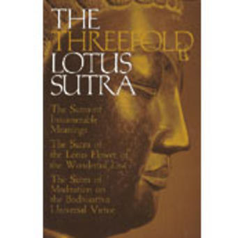 The Threefold Lotus Sutra
