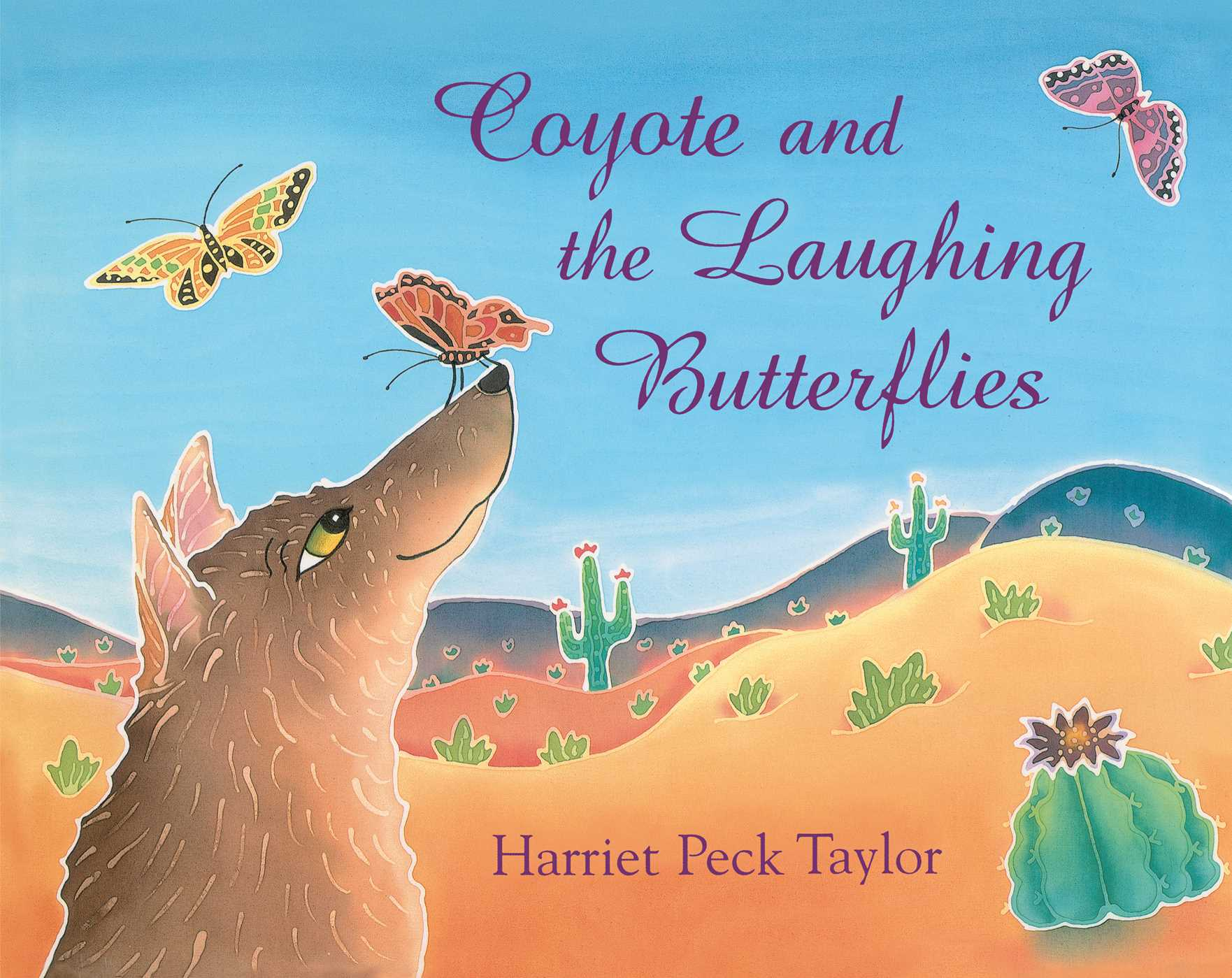 Coyote and the laughing butterflies 9780027888461 hr