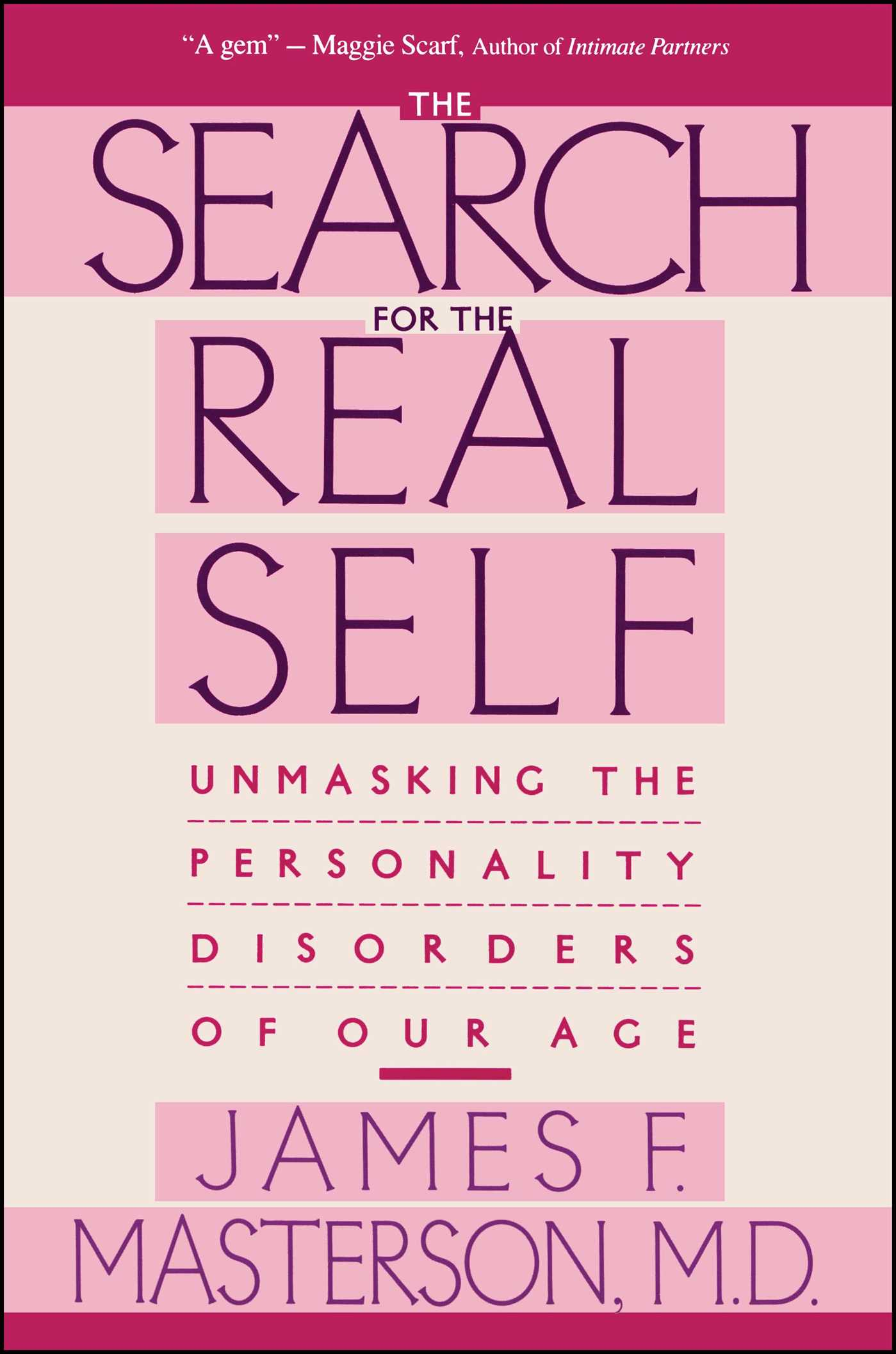 Search for the real self 9780029202920 hr