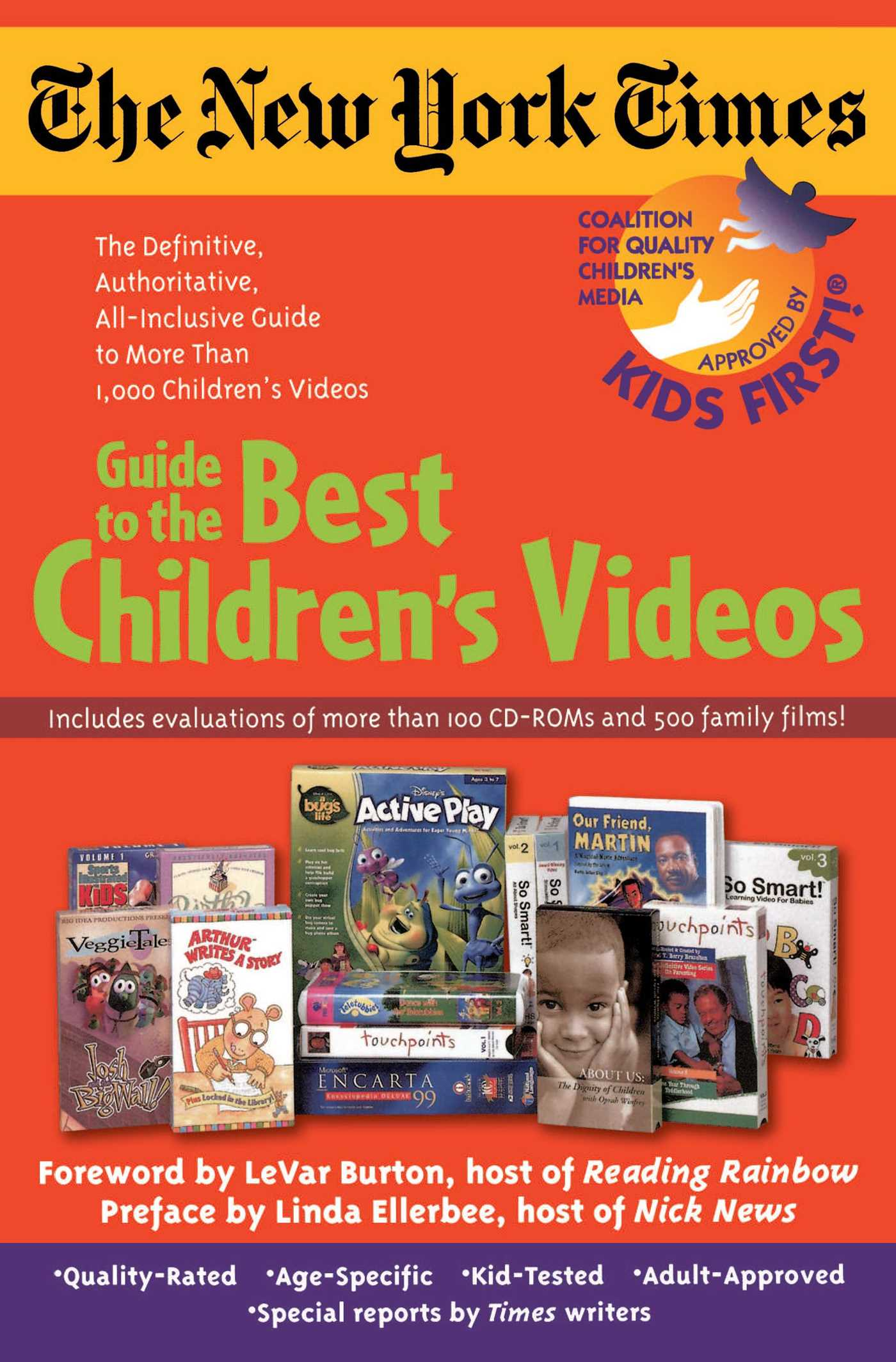 The new york times guide to the best childrens videos 9780671036690 hr