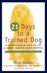 Twenty one days to a trained dog 9780671251932